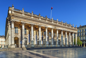 Fototapete - Bordeaux National Opera, France