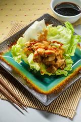 Korean Sandwhich Lettuce Wrap