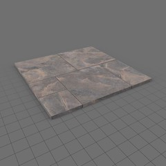 Stone paving tiles module 1