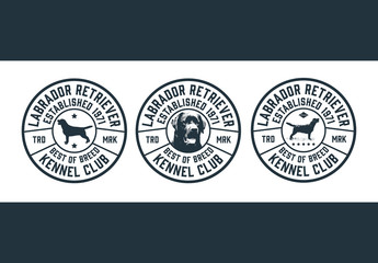Dog Show Emblem Layout