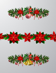 Christmas tree branch decorations