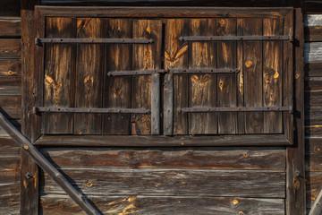 The old wooden door - grunge background texture for design