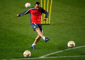 Europa League - Villarreal Training