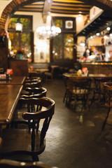Indoor restaurant in Antwerp in Belgium