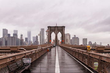 Fototapete - Brooklyn Bridge