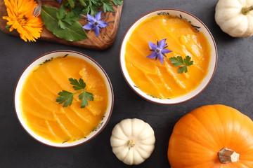 Pumpkin cream.