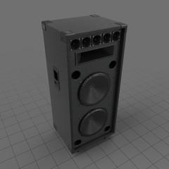 Stage speaker 1