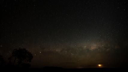 Galactic Moonset