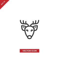 Deer vector icon