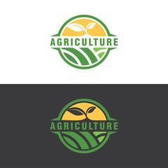 agriculture logo concept