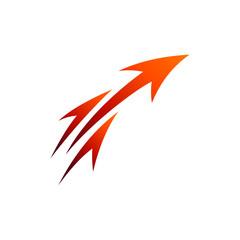 Fast Arrow Launch Business Logo Template