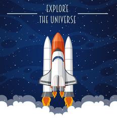 Explore the universe template
