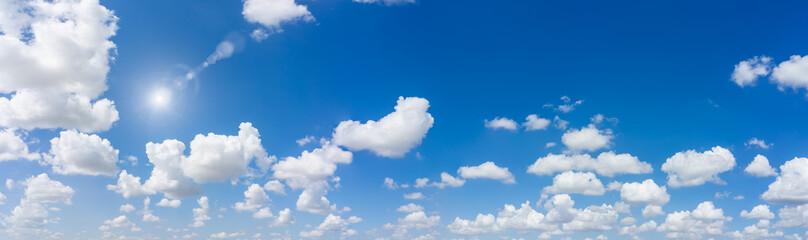 Fototapeta Blue sky natural background.