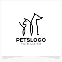 Pets Logo Design Template