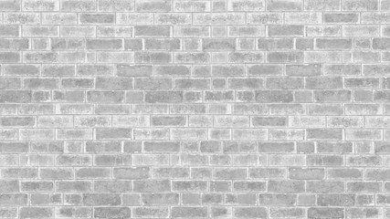 Abstract weathered texture stained old stucco light gray and aged paint white brick wall background...