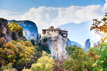 Monastery of St. Nicholas Anapausas Meteora, Greece