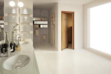 Elegantes Badezimmer (Gestaltung)