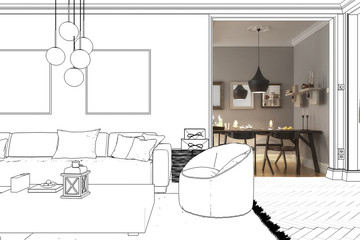 Room design: Apartment (project)