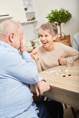 Gewinner und Verlierer beim Brettspiel