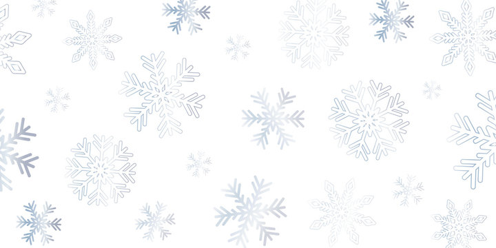 bright snowflake winter background vector illustration EPS10