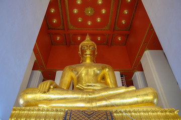 タイ・アユタヤ・遺跡・仏陀・世界遺産・ワット・プラ・シーサンペット
