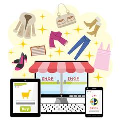 ネットショッピング ファッション