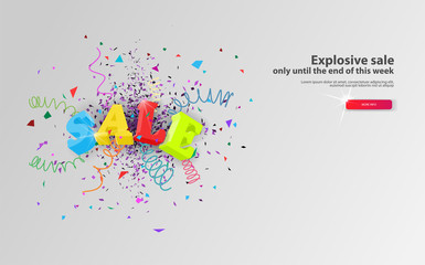 Explosive sale only until the end of this week web banner