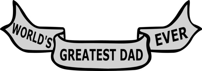 Dad Father's Day Banner