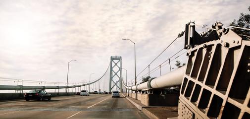 traversée du Bay Bridge à Francisco