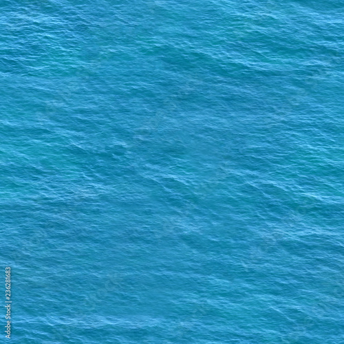 Natural Color Of Sea Ocean Daylight Water Surface With Waves
