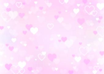 ハート ピンク バレンタイン 背景