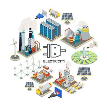 Isometric Energy Round Concept
