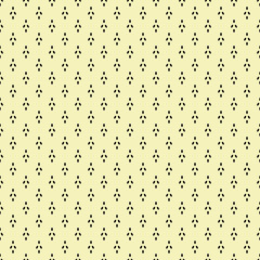 Pale yellow and black abstract seamless pattern texture