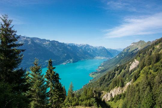Brienzersee im Berner Oberland / Schweiz