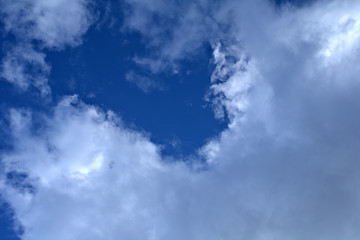 blue sky with clouds,white, nature, day, weather, air, cloudy, heaven, atmosphere, light,space, bright, fluffy,meteorology,