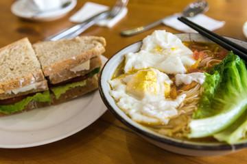 Frühstück mit Suppe, China