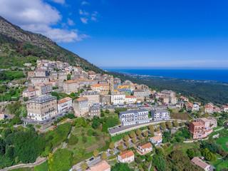 Cervione an der Ostküste der Insel Korsika