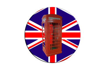 3 D Cover with Union Jack