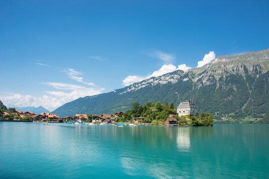 Iseltwald am Brienzersee, Berner Oberland / Schweiz