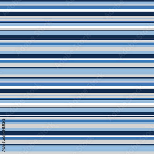 Horizontal Stripes Seamless Pattern Shades Of Blue And Gray Design Made For Hanukkah
