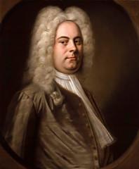 Portrait of Georg Friedrich Handel