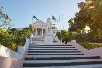 Tourist historical place in Nassau Bahamas