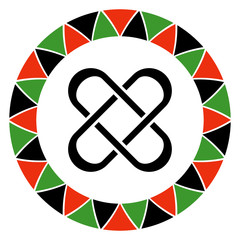 Kwanzaa Principle of Unity - Symbol for Kwanzaa principle of umoja