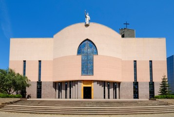 Catholic Paulus Cathedral, Katedralja e Shen Palit, Tirana, Albania, Europe Fotobehang