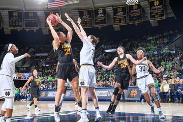 NCAA Womens Basketball: Iowa at Notre Dame