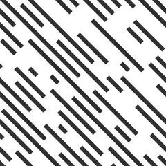 Dashed diagonal background. Seamless vector pattern.