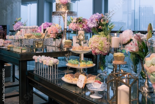 Wedding Dessert Corner Stock Photo And Royalty Free Images On