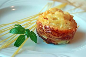 Spaghetti Muffin, Basilikum