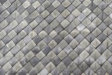 Fiber cement roof tiles vintage house insulation