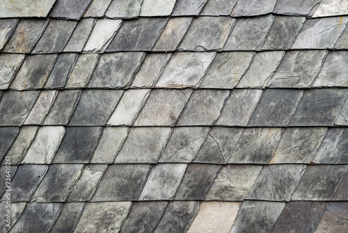 Slate roof roofing tiles square stone texture pattern